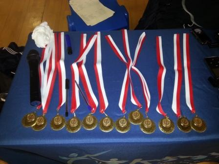 Primary Athletics Medals