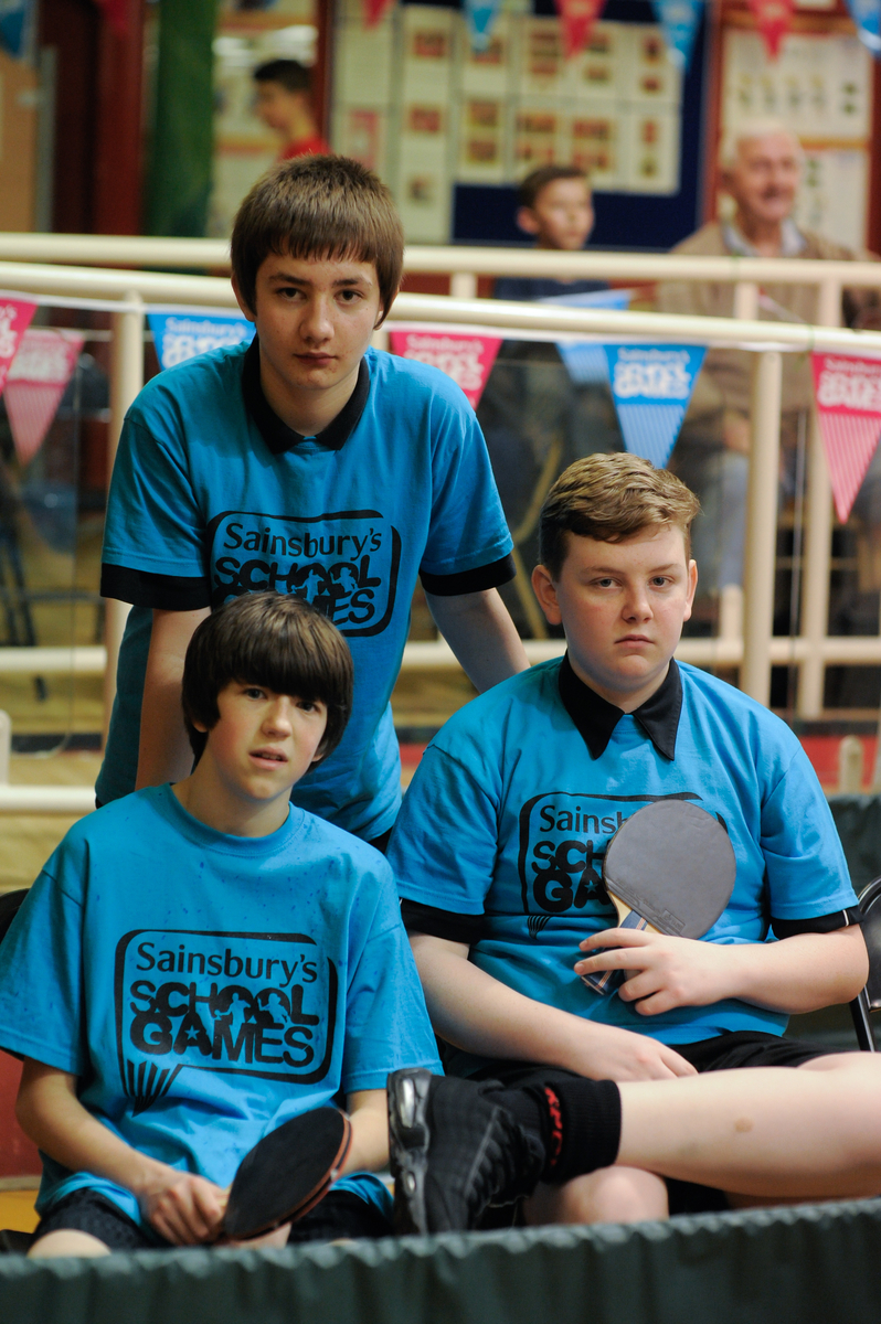 Knowsley Park KS3 Table Tennis Team