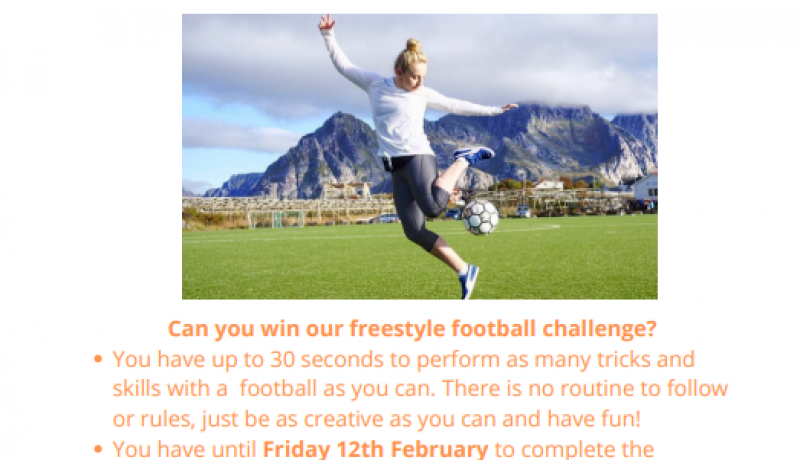 Girls Football Freestyle