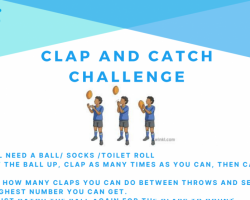 Clap and catch