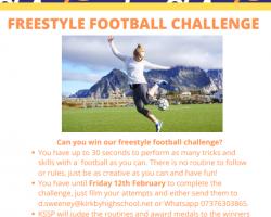 Girls Football Freestyle